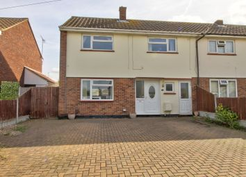 Thumbnail 3 bed end terrace house for sale in Manor Avenue, Pitsea, Basildon