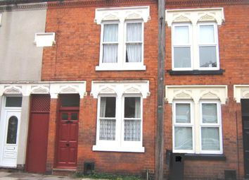 Thumbnail 2 bed terraced house to rent in Lord Byron Street, Knighton Fields, Leicester