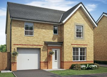 "Thumbnail 4 bed detached house for sale in ""Ripon"" at Lukes Lane, Hebburn"