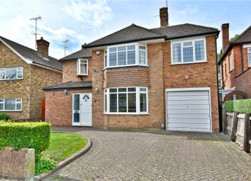 Thumbnail 4 bed detached house for sale in Harford Drive, Watford, Hertfordshire