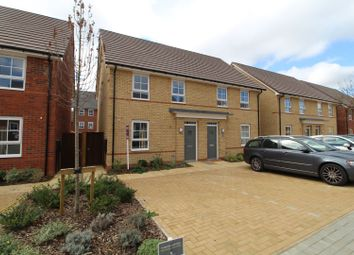 3 bed semi-detached house for sale in Cornelius Crescent, Fairfields MK11