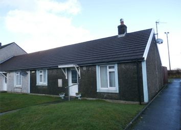 Thumbnail 2 bed terraced bungalow for sale in Maesamlwg, Tregaron, Ceredigion