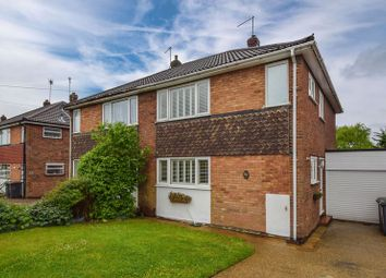 Thumbnail 3 bed semi-detached house for sale in Kynance Close, Luton