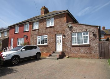 Thumbnail 3 bed semi-detached house for sale in Wessex Road, Weymouth