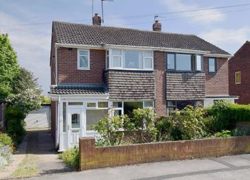Thumbnail 3 bed semi-detached house for sale in Hallcroft Drive, Horbury, Wakefield