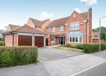 Thumbnail 4 bed detached house for sale in Abingdon View, Worksop