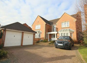 Thumbnail 5 bed detached house for sale in Station Road, Haughton, Stafford