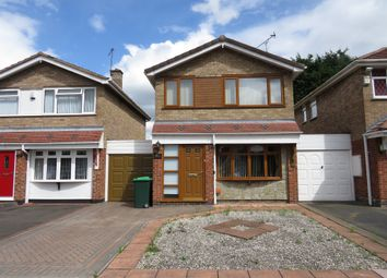 Thumbnail 3 bed detached house for sale in Comberford Drive, Wednesbury