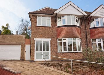 Thumbnail 4 bedroom semi-detached house for sale in Durston Close, Evington, Leicester