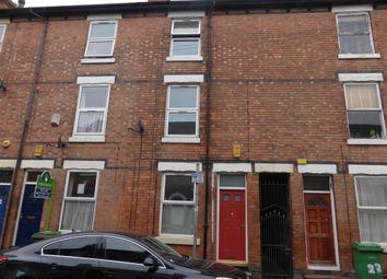 Thumbnail 4 bedroom terraced house to rent in Osborne Street, Nottingham