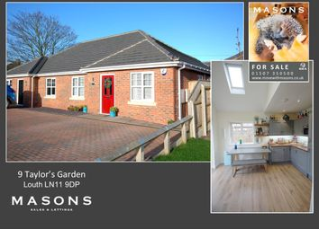 Thumbnail 3 bed semi-detached bungalow for sale in Taylor's Garden, Louth