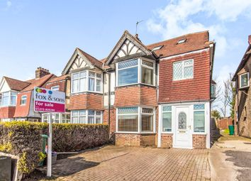 Thumbnail 5 bed semi-detached house for sale in Old Shoreham Road, Hove