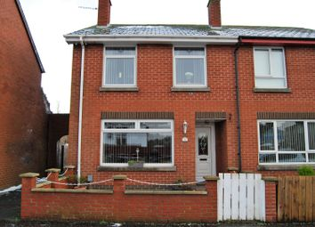Thumbnail 2 bed end terrace house for sale in Grand Street, Lisburn