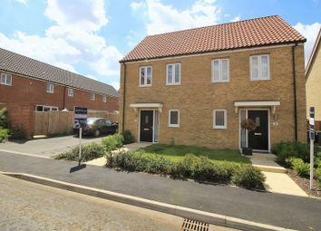 Thumbnail 2 bedroom semi-detached house for sale in Barbastelle Crescent, Hethersett, Norfolk