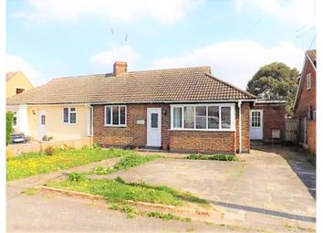 Thumbnail 3 bed semi-detached bungalow for sale in Queens Road, Steeple View