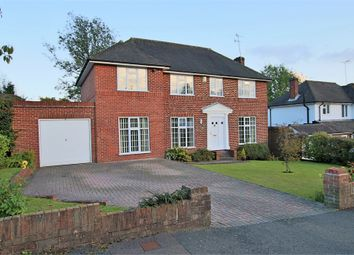 Thumbnail 4 bed detached house for sale in Nightingale Close, East Grinstead, West Sussex