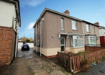 Thumbnail 3 bed semi-detached house for sale in Norton Avenue, Stockton-On-Tees, Cleveland