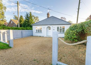Thumbnail 3 bed detached bungalow for sale in Broadway, Heacham, King's Lynn
