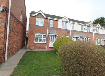 Thumbnail 2 bed end terrace house to rent in Throstles Close, Great Barr Birmingham