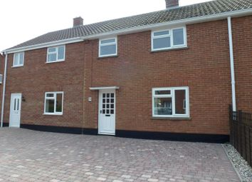 Thumbnail 3 bed terraced house to rent in Ducksen Road, Mendlesham, Stowmarket