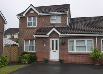 Thumbnail 3 bed link-detached house to rent in Fernlea Park, Waunceirch, Neath