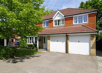 Thumbnail 5 bed detached house for sale in Charlock Way, Southwater, Horsham