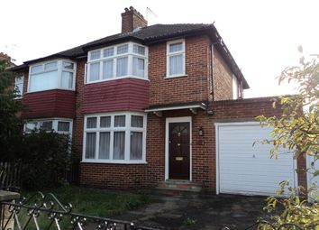 Thumbnail 3 bed semi-detached house to rent in Cotswold Gate, Golders Green, London