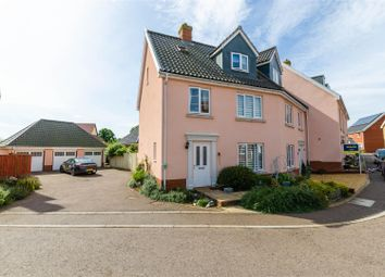Thumbnail 4 bed town house for sale in Crown Meadow, Kenninghall, Norwich