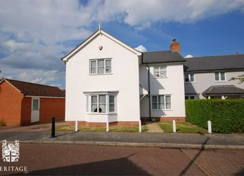 Thumbnail 4 bed link-detached house for sale in Bassingham Crescent, Tiptree, Essex