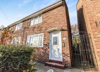 Thumbnail 2 bed semi-detached house for sale in Galashiels Road, Grindon, Sunderland