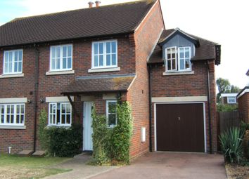 Thumbnail 3 bed semi-detached house to rent in Springbank, Chichester