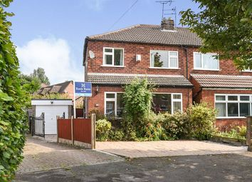 Thumbnail 3 bed semi-detached house for sale in Cruttenden Road, Great Moor, Stockport