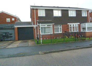 Thumbnail 3 bed semi-detached house to rent in Gayhurst Crescent, Sunderland