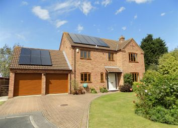 Thumbnail 4 bed detached house for sale in Winterbeck Close, Bottesford, Nottingham