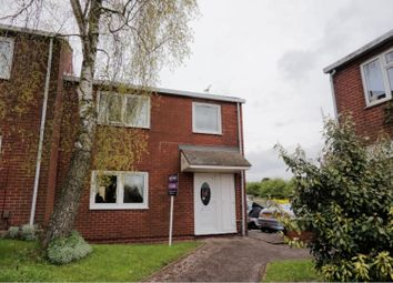 Thumbnail 3 bed town house for sale in Branklene Close, Kimberley, Nottingham