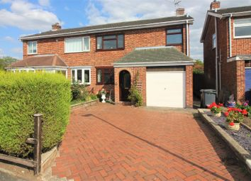 Thumbnail 3 bed semi-detached house for sale in Grange Close, Ashby-De-La-Zouch