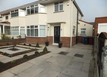 Thumbnail 3 bedroom semi-detached house to rent in Oak Road, Huyton, Liverpool
