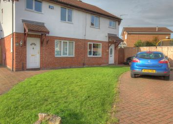 Thumbnail 3 bed semi-detached house for sale in Kinross Close, Fearnhead, Warrington