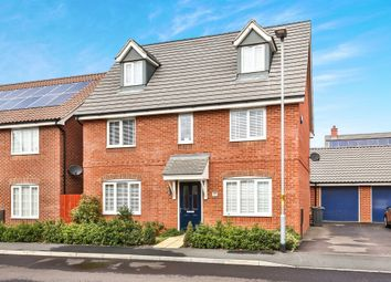 Thumbnail 5 bed detached house for sale in Colossus Way, New Costessey, Norwich