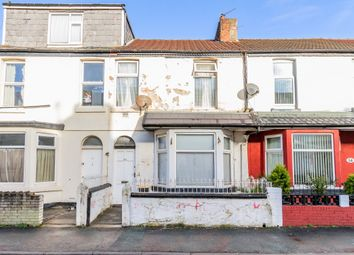 Thumbnail 3 bed terraced house for sale in Haig Road, Blackpool