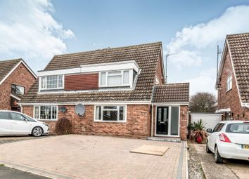 Thumbnail 4 bed semi-detached house to rent in Reynes Drive, Oakley, Bedford