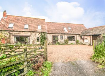Thumbnail 4 bed barn conversion for sale in Harrold Road, Lavendon