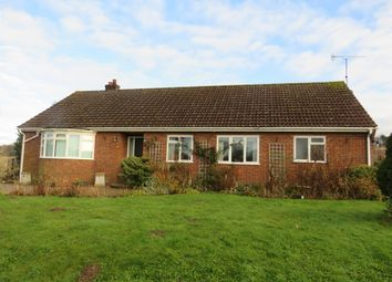 Thumbnail 2 bedroom detached bungalow for sale in Holt Road, Edgefield, Melton Constable