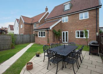 Thumbnail 6 bed detached house for sale in Tacolneston, Norwich