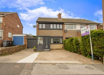 Thumbnail 3 bed semi-detached house for sale in Woodpecker Close, Aston, Sheffield