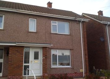Thumbnail 2 bed semi-detached house for sale in Heather Crescent, Derwen Fawr, Sketty, Swansea