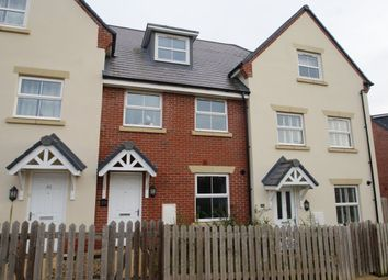 Thumbnail 3 bed terraced house to rent in Hyde Park, Lords Way, Andover