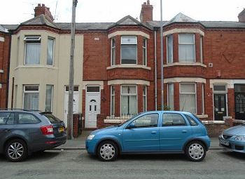 Thumbnail 3 bedroom terraced house for sale in Underwood Lane, Crewe