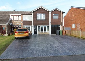 Thumbnail 4 bed semi-detached house for sale in Braemar Close, Willenhall