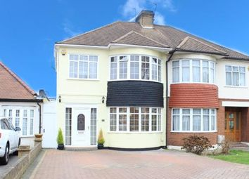 Thumbnail 3 bed semi-detached house for sale in Clayhall, Ilford, Essex